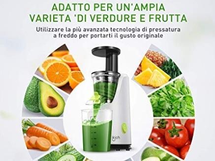 Estrattore succo frutta e verdura