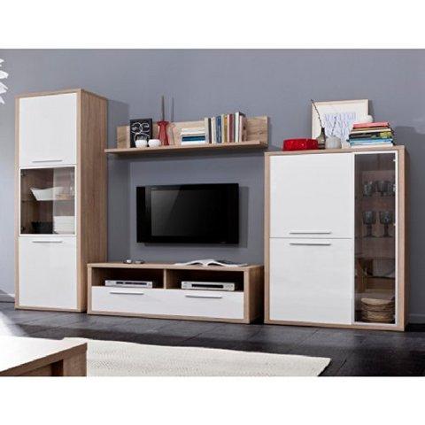 Soggiorno parete attrezzata porta tv lcd 3 colori nuovo   mobili ...