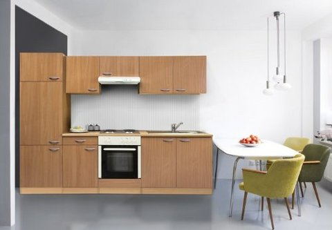 Cucina componibile cm 270 elettrodomestici grandi - Blocco cucina prezzi ...