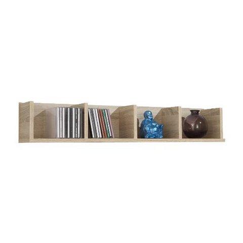 Mensole libreria cornice in colore quercia ufficio casa