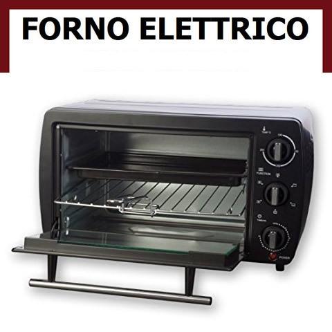 Forno elettrico ventilato 2 resistenze no microonde - Forno elettrico microonde ...