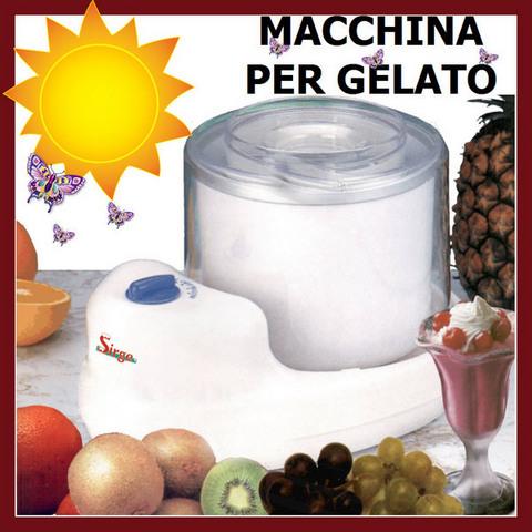 Gelatiera Macchina Del Gelato Icecream Ice Maker Ottima