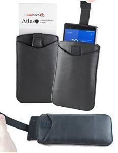 Custodia cover iphone nokia ecopelle