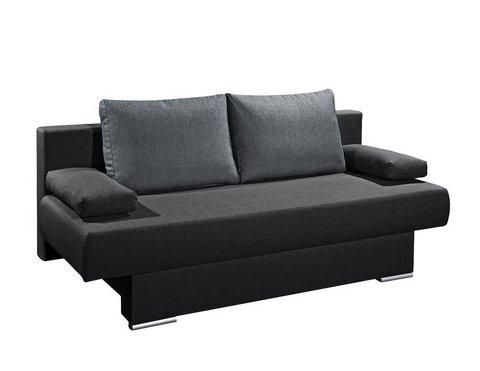 divano pronto letto 2 posti con vano contenitore grandi