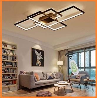 Plafoniere Grandi Led A Soffitto Moderno : Lampadari moderni da soffitto a led grandi sconti affari online