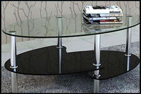 Tavolino Da Salotto Vetro Temperato