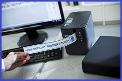 Etichettatrice adesive wifi