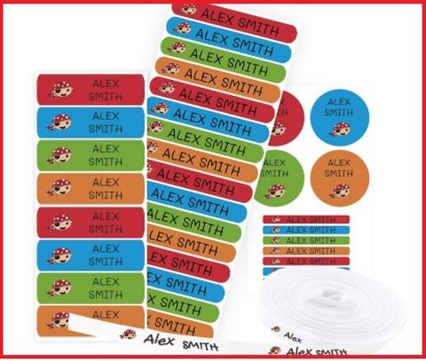 Etichette Adesive Scuola Personalizzate