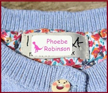 Etichette Per Vestiti Termoadesive Bambini