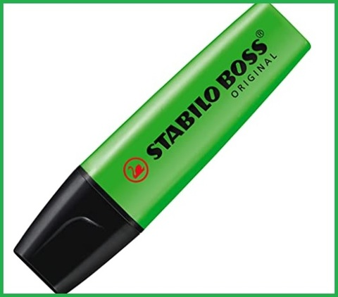 Evidenziatore Stabilo Verde Pastello