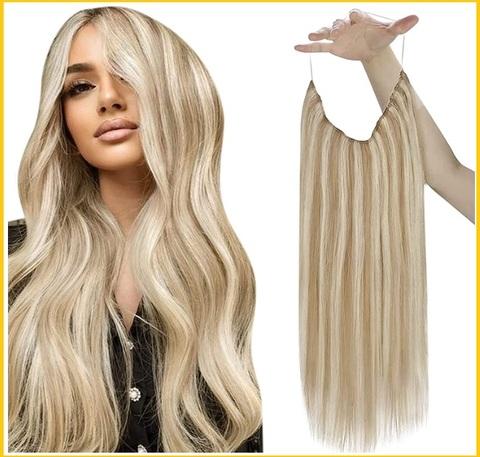 Extension capelli veri con filo