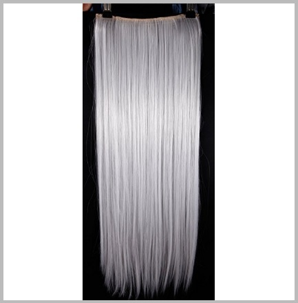 Extension capelli argento
