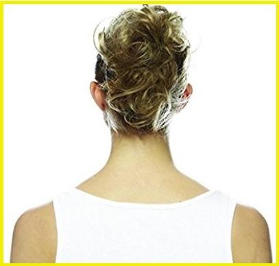 Extension elastico capelli biondi