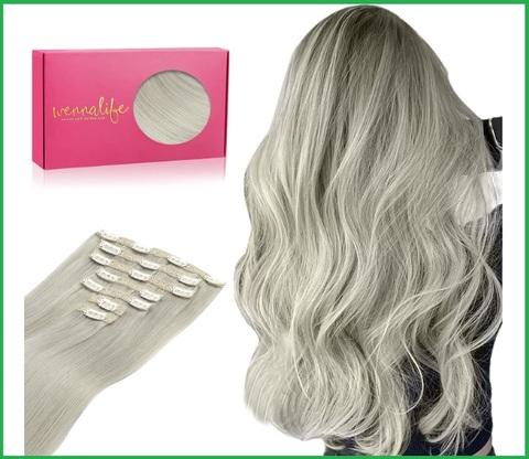 Extension capelli grigi