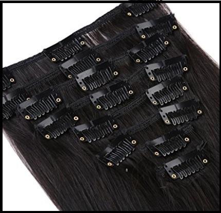Extension nere capelli