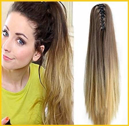 Extension treccia capelli clip
