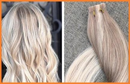 Extension biadesivo capelli veri balayage