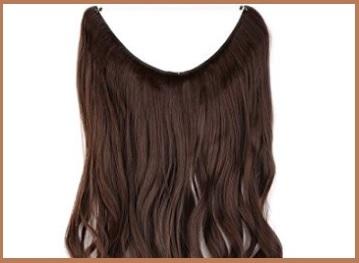 Extension capelli con filo trasparente