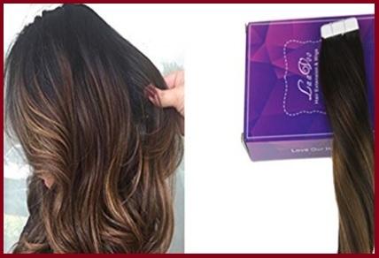 Extension adesive capelli corti