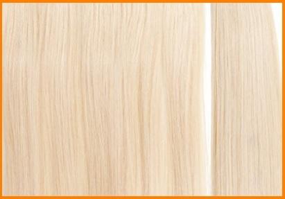 Extension adesive capelli veri biondi