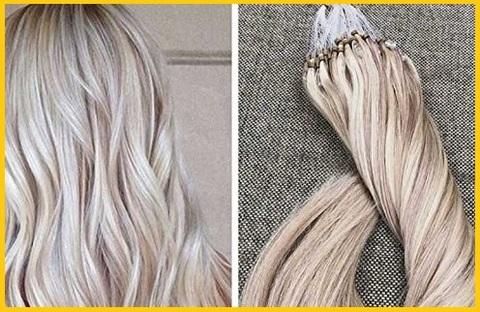 Extension capelli biondo cenere