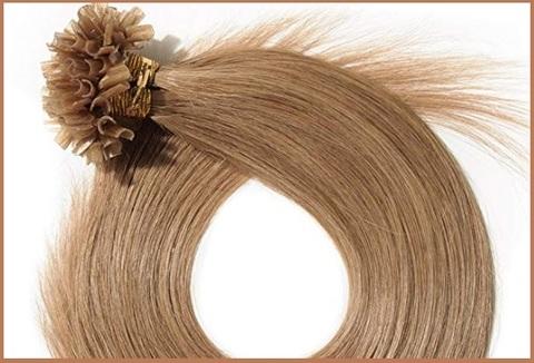 Extension cheratina capelli veri