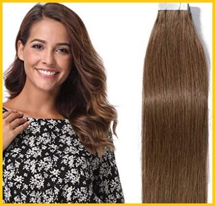 Extension biadesivo capelli veri