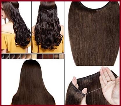 Extension capelli umani filo invisibile