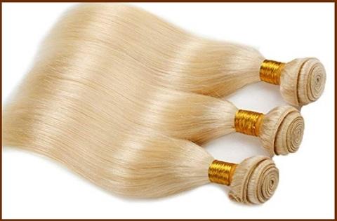 Extension capelli umani biondi
