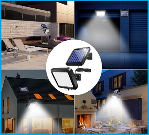 Faretto Solare Con Sensore Di Movimento