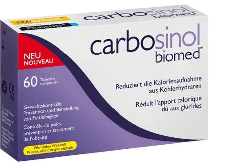 Carbosinol 60 e 120 caps