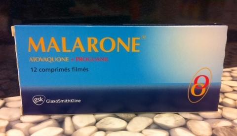 Malarone cpr 250/100 mg 12 pce