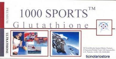 Ultrathione sport 1000 4 x 32 blister 128 kapsule