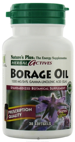 Borage oil 1300 mg 30 softgel - herbal
