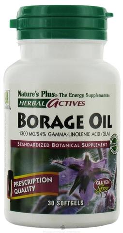 Borage oil 1300 mg 30 softgel - herbal