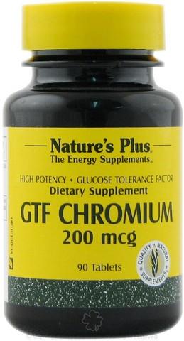 Gtf chromium 200 mcg 90 cpr