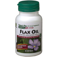 Flax oil 1300 mg. 30 softg. - herbal