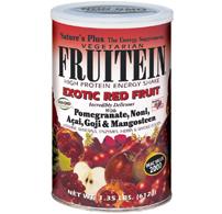Fruitein exotic red fruit  shake 576 gr.