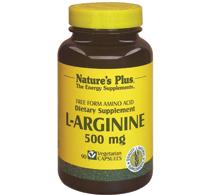 L arginine 500 mg 90 caps