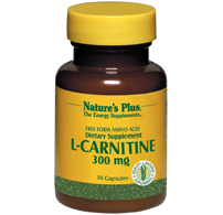 L carnitine 300 mg 30 cpr