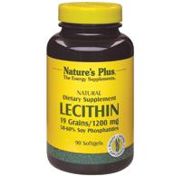 Lecithin 19 grains/ 1200 mg 90 softgel