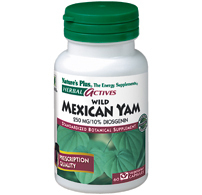 Wild mexican yam 250 mg 60 vcaps  herbal