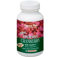 Ultra cranberry 200 mg 90 chew.tab  / 180 chew.tab