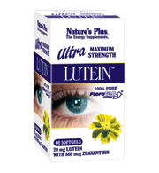 Ultra lutein 20 mg60 softgels