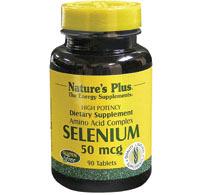 Selenium 50 mcg 90 cpr