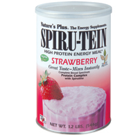 Spiru tein strawberry 2.4 lb 1088 gr.