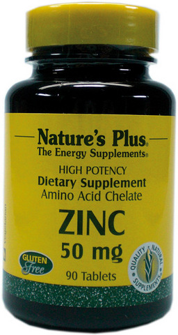 Zinc 50 mg 90 cpr - Sconto del 20%, Nature's plus  -20% | Grandi Sconti