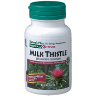 Np milk thistle 60 cps  250 mg herbal 7228