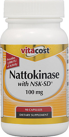 Nattokinase 100 mg 90 caps vitacost