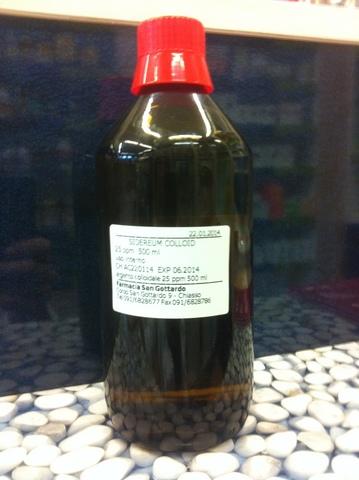 Argento Colloidale 20ppm 500 Ml Grandi Sconti Farmacia